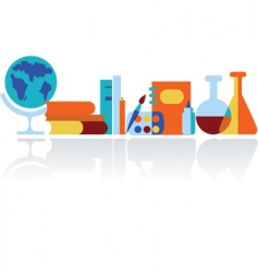 education in classroom vector image