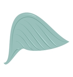 Blue wing icon cartoon style vector