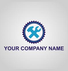 construction equipment logo design vector image