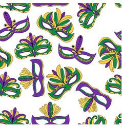 eps10 for mardi gras carnival vector image