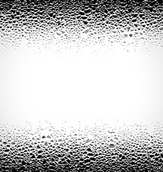 Grunge background with drops vector