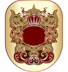 Heraldry graphic vector