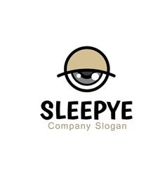 Sleepye Design vector image