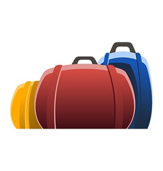 three bags vector image