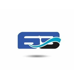 62th Year anniversary design logo vector image vector image