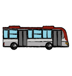 Bus transport vehicle business vector