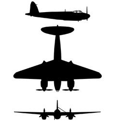 De Havilland DH 98 Mosquito vector image