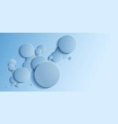 Abstract background is similar to the bubbles vector