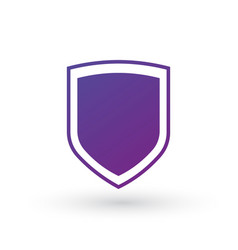 Abstract security icon isolated on white vector