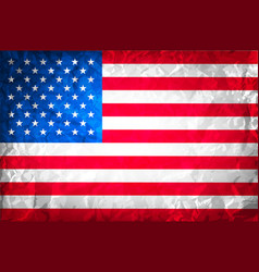 american grunge flag grunge for a background of a vector image