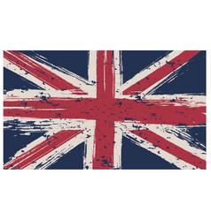 British flag isolated white background vector