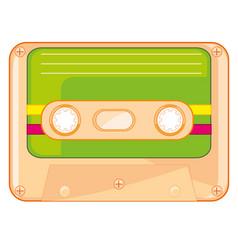cassette for tape-recorder vector image
