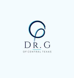 dr g logo vector image