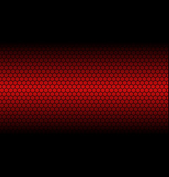 honey comb red background vector image