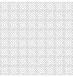 Seamless pattern with overlapping geometric square vector image vector image