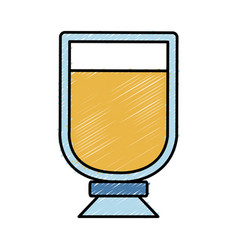 Drink glass icon image vector