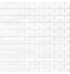 white brick wall seamless vector image