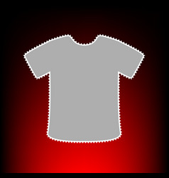 t-shirt style on vector image vector image