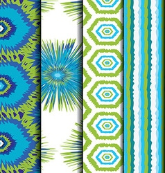 colorful ethnic pattern vector image