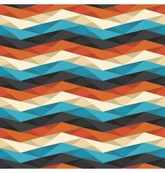 Crumpled geometric background vector