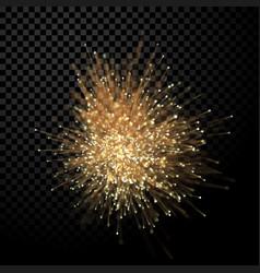 Abstract optical fiber wirework glitter light vector