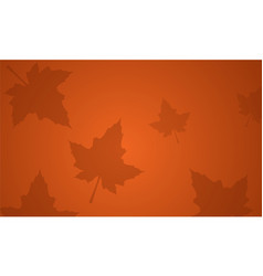 Background maple leaf thanksgiving theme vector