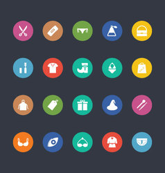 Glyphs Colored Icons 41 vector