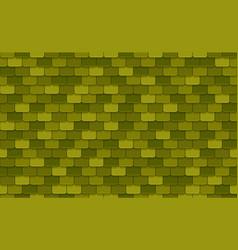 Green rotiles seamless pattern vector