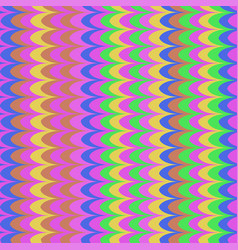 ikat wave oxid seamless pattern vector image