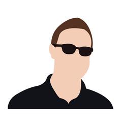 professional avatar icon avatar man icon man vector image