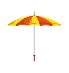 umbrella isolated symbol vector image