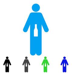 wc man flat icon vector image