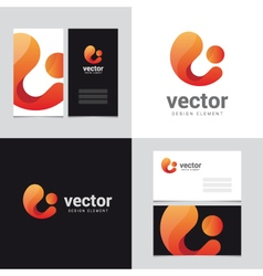 logo design element 22 vector image vector image