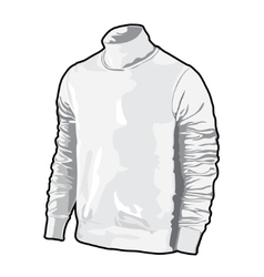 vector polo shirt vector image