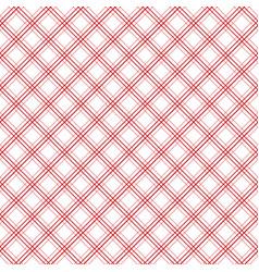 geometric plaid diagonal line vintage seamless vector image vector image