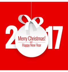 text Design 2017 vector image vector image