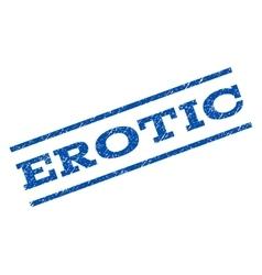 Erotic Watermark Stamp vector