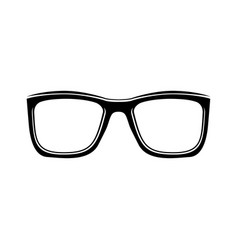 eyeglasses accessory glasses vector image