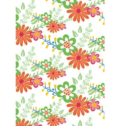 Floral with patterns vector