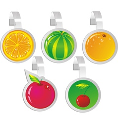 Fruit wobblers vector