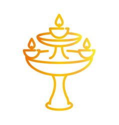 happy diwali india festival deepavali religion vector image