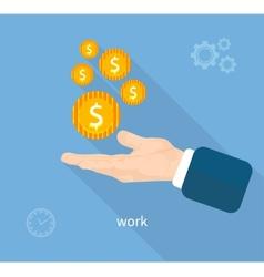 Payment work vector