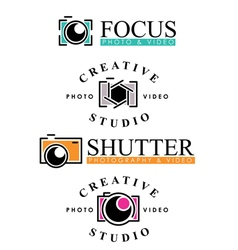 Photography Badges vector image