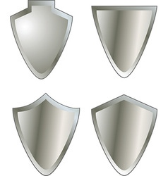 Set of shield icons vector