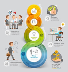 Business Growth Strategies Concept vector image
