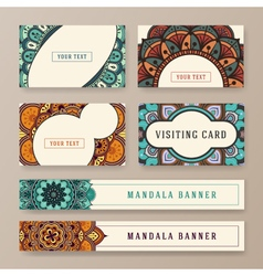 Multipurpose banner and card template vector