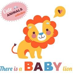 LionBaby vector image