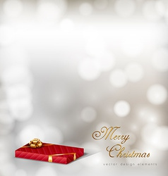 Red Gifts vector image
