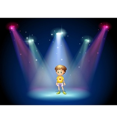 Center Stage Kid vector image
