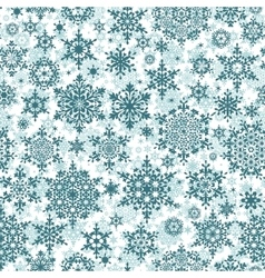 Christmas pattern snowflake background EPS 10 vector
